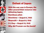 defeat of japan