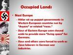 occupied lands