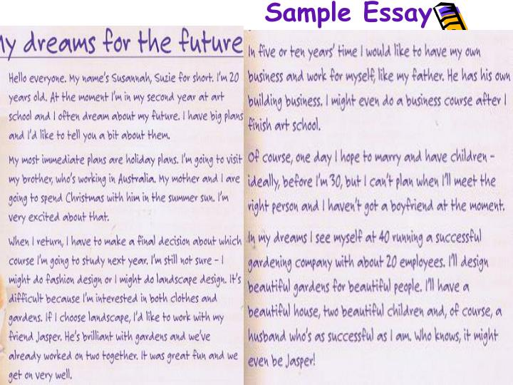 essay on career plans in future Scholarship essay tips: educational and career goals as i approach the final stretch of my graduate program in sociology, it's curious to reflect on how my plans for my post-phd career have changed since i started grad school, fresh out of.