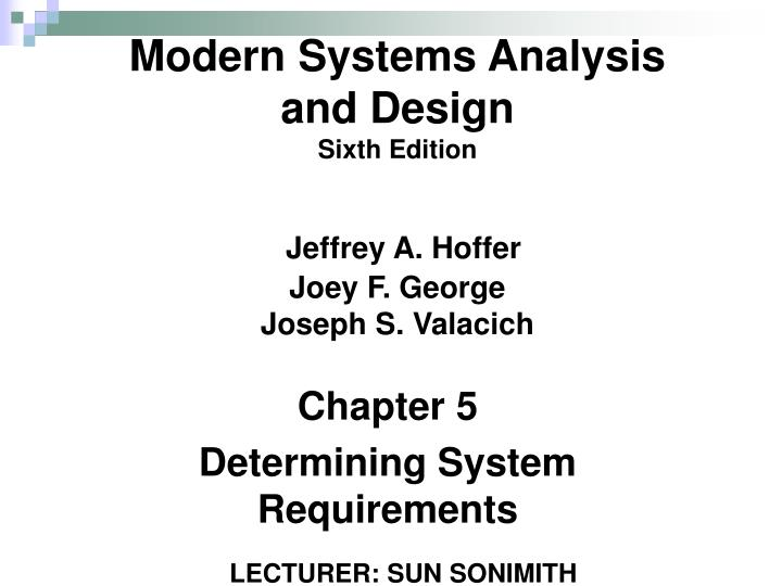 Ppt Chapter 5 Determining System Requirements Powerpoint Presentation Id 6107367