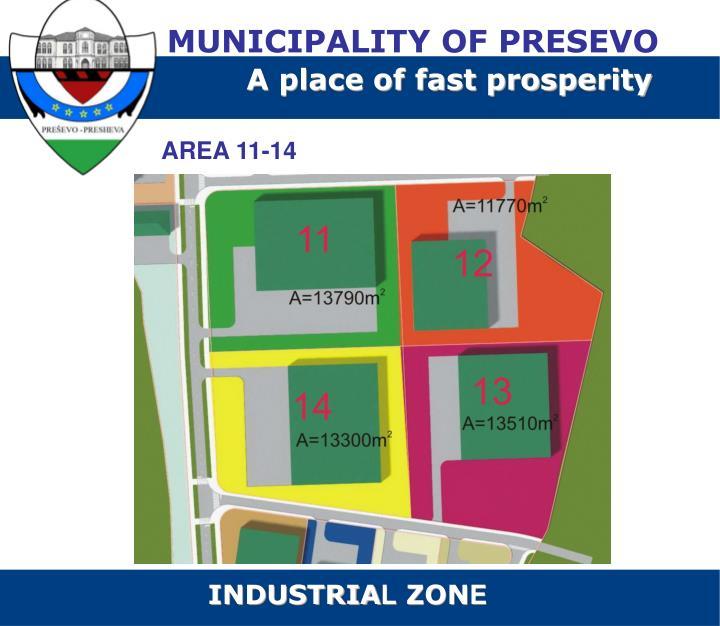 MUNICIPALITY OF PRESEVO