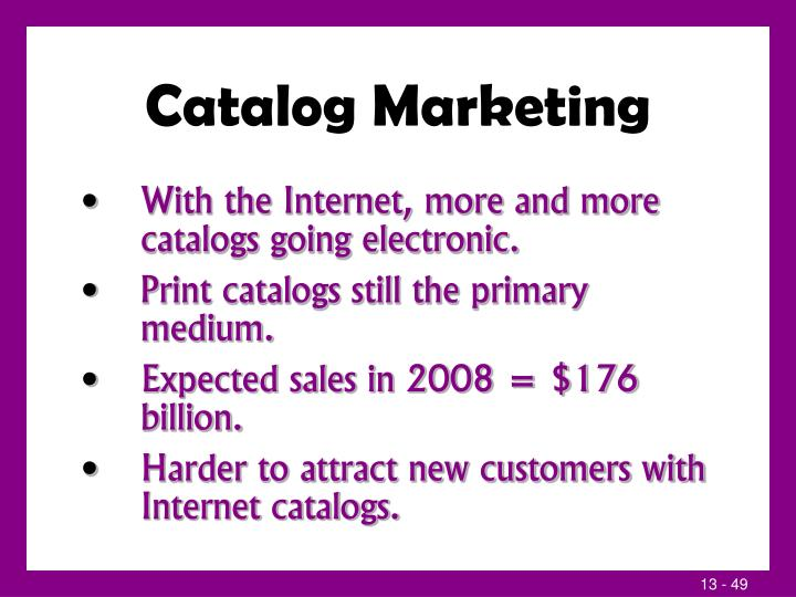 Catalog Marketing