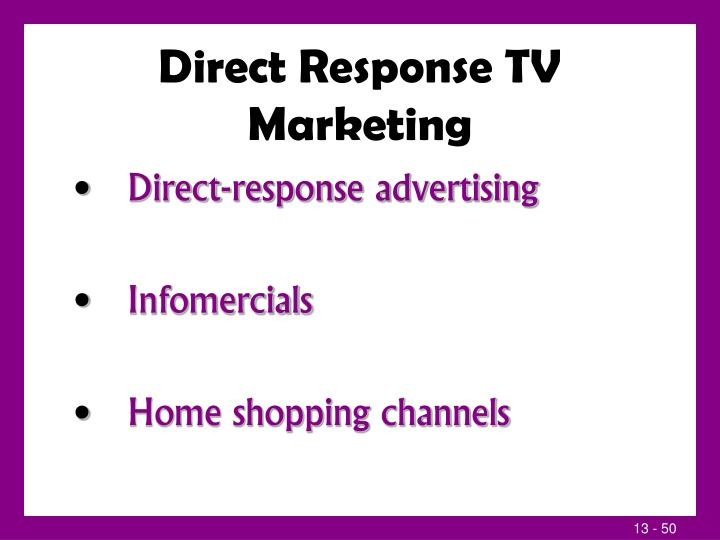 Direct Response TV Marketing