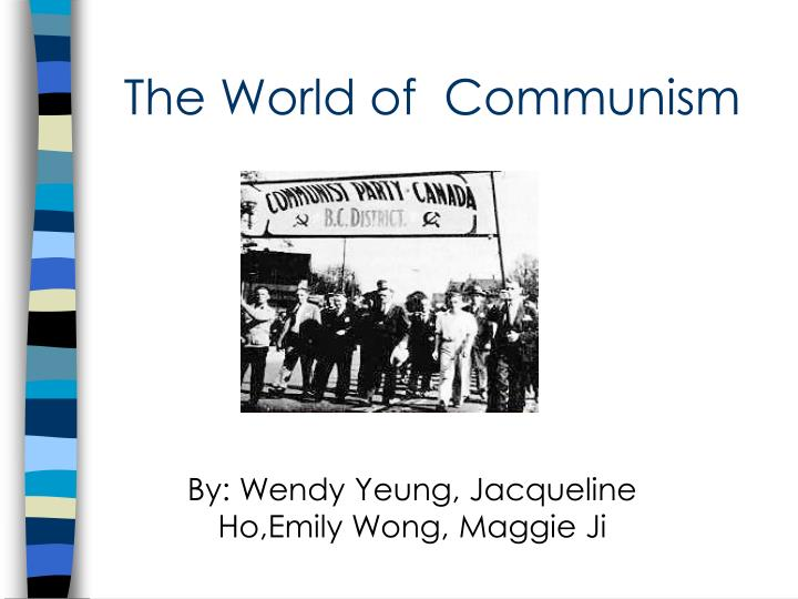 By wendy yeung jacqueline ho emily wong maggie ji