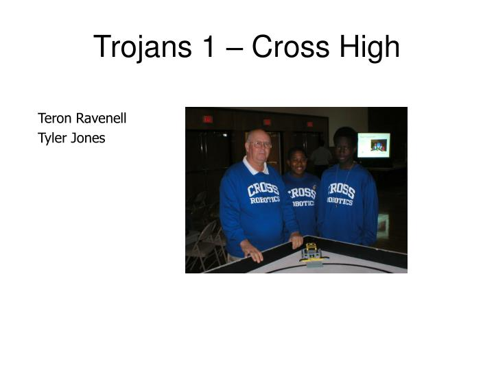 Trojans 1 – Cross High