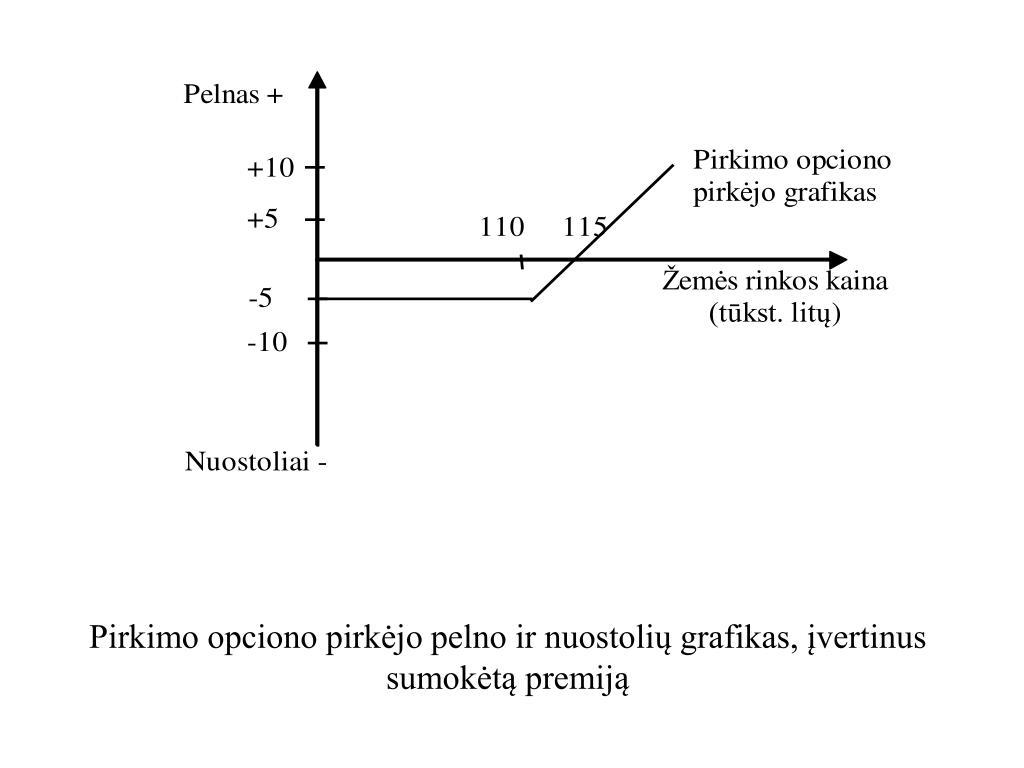 akcijų pasirinkimo sandoriai ppt)