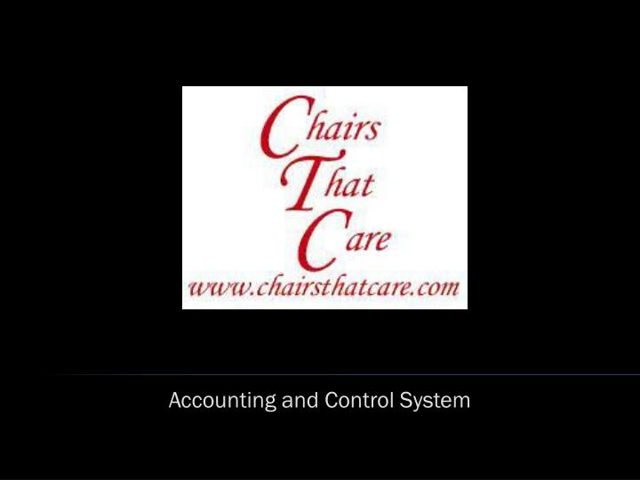accounting and control system n.
