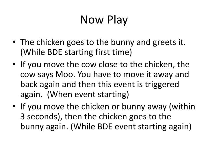 Now Play