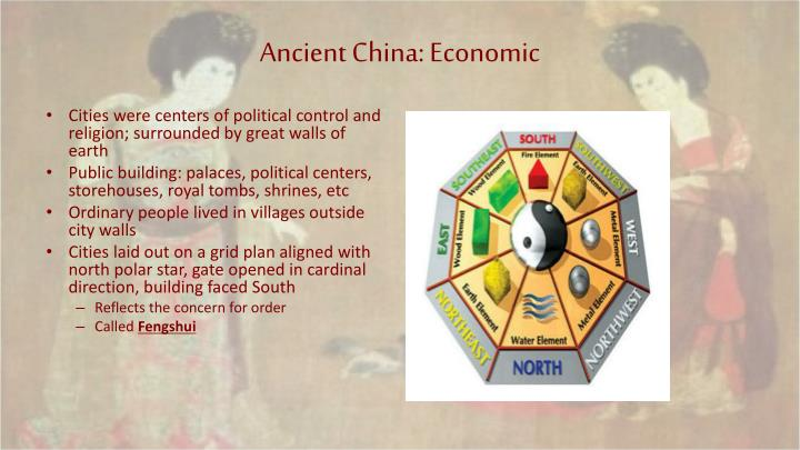 Ancient China: Economic