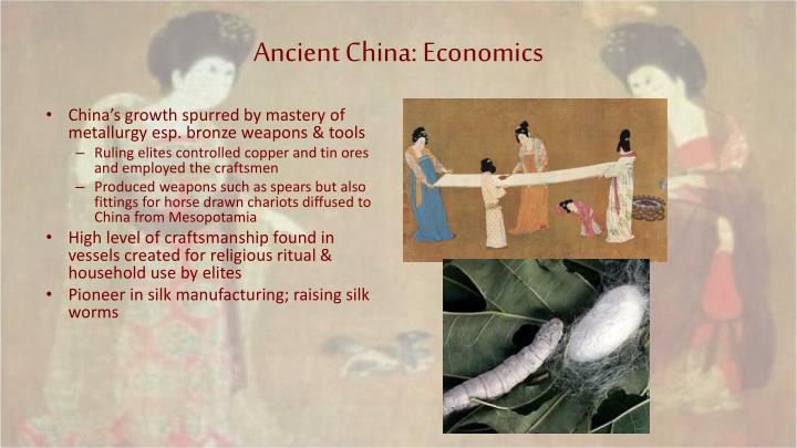 Ancient China: Economics
