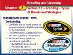 section 7 1 branding types of brands and strategies2