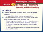 section 7 2 licensing licensing and merchandising2