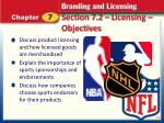 section 7 2 licensing objectives