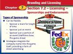 section 7 2 licensing sponsorships and endorsements3