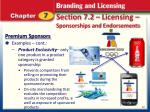 section 7 2 licensing sponsorships and endorsements7
