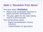 stalin s revolution from above