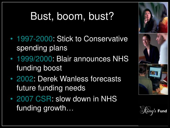 Bust boom bust