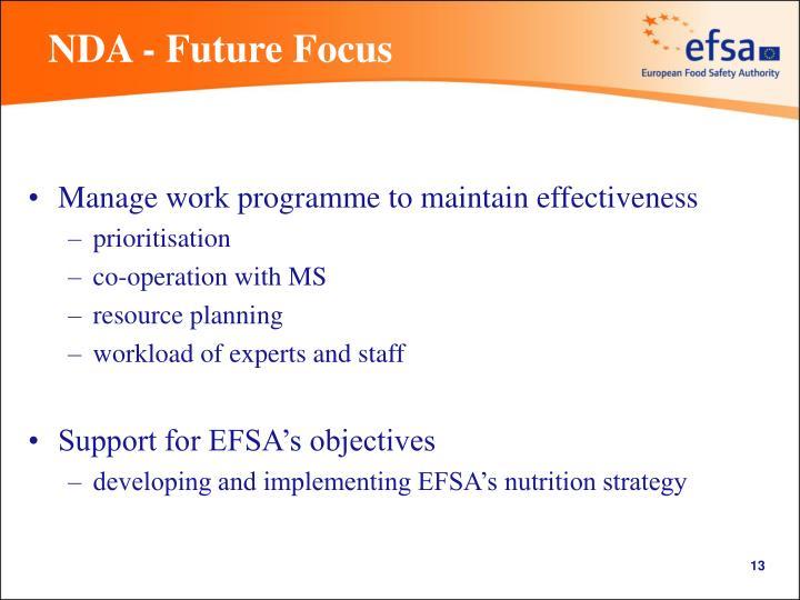 NDA - Future Focus