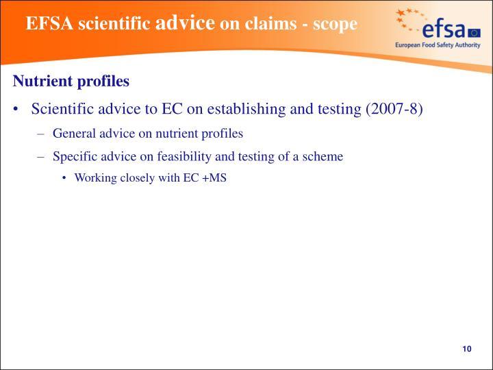 EFSA scientific