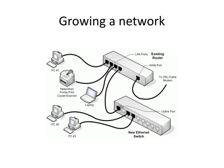 Growing a network
