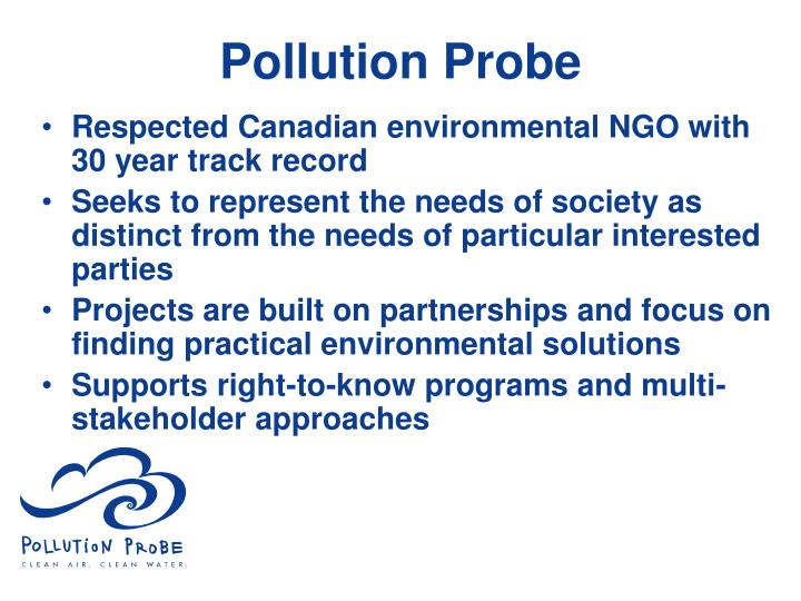 Pollution probe