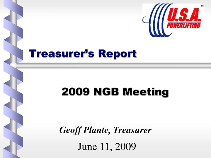 treasurer s report n.