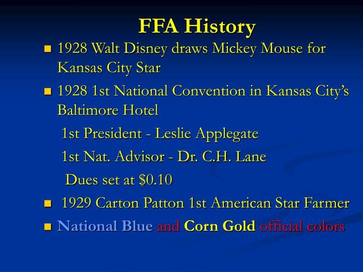 FFA History