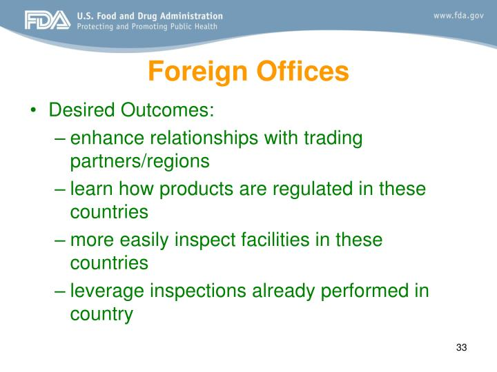 Foreign Offices