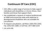 continuum of care coc
