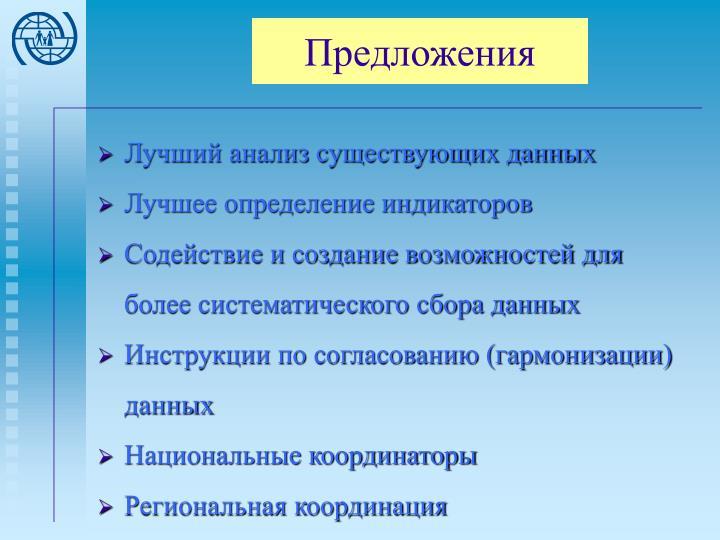 Предложения