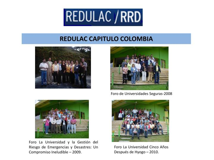 REDULAC CAPITULO COLOMBIA