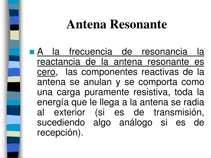 Antena Resonante