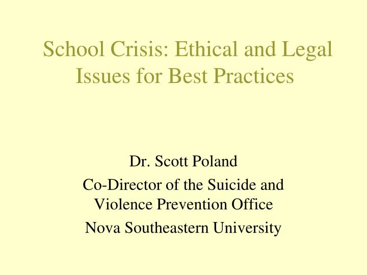 ethical issues in special education 2011] ethics and special education lawyers 533 the child is the client and discusses the roles of the parent and the lawyer in such a relationship ii the major source of confusion: model rule 114.
