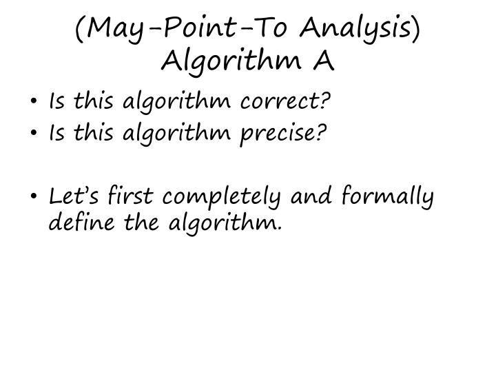 (May-Point-To Analysis)