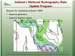 indiana s national hydrography data update program4