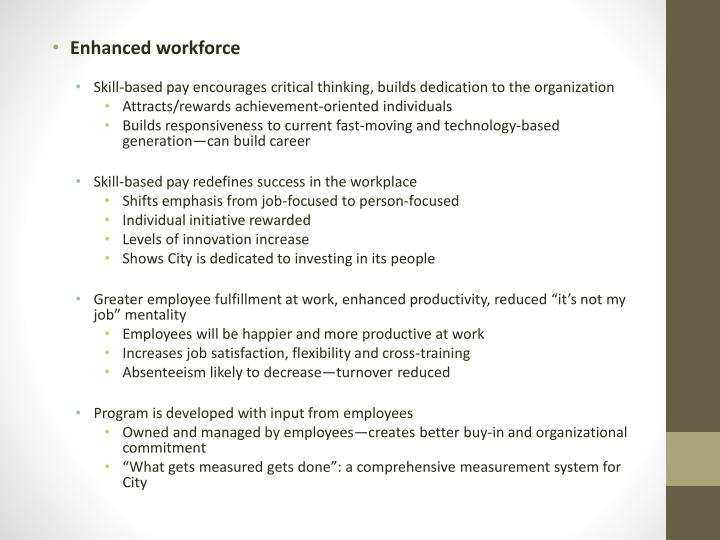 person focused pay programs