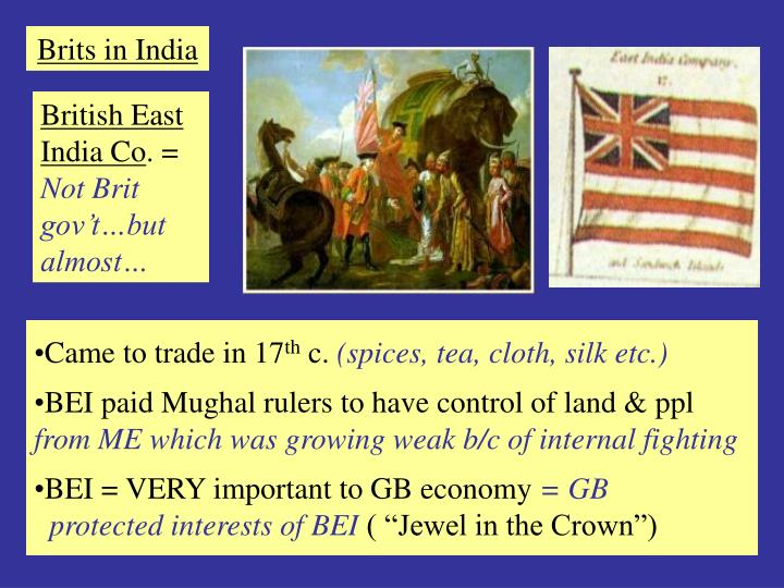 Brits in India