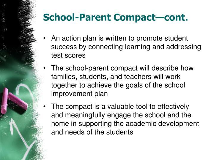 School-Parent Compact—cont.