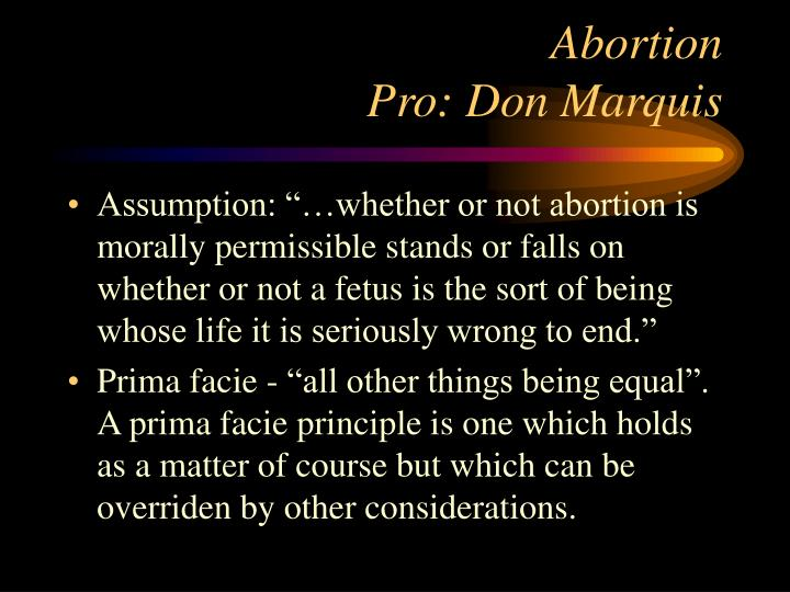 is abortion right or wrong essay An introduction to the abortion debate  the only such right is the mother's right to live therefore abortion is wrong unless it is to save the life of.