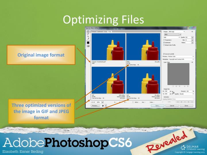 Optimizing Files