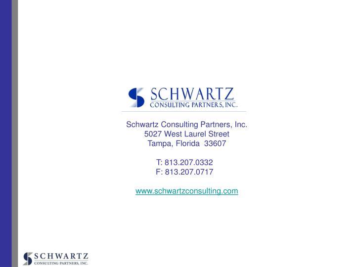 Schwartz Consulting Partners, Inc.