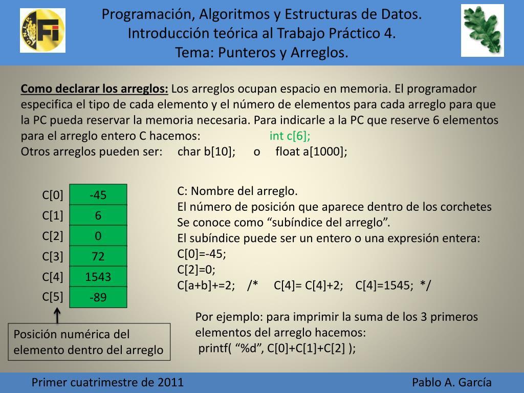 Ppt Tipos De Datos Básicos Y Estructurados Powerpoint