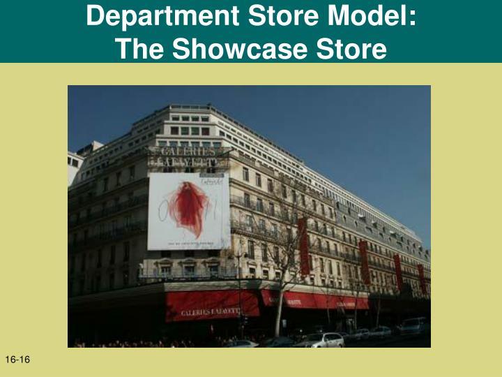 Department Store Model: