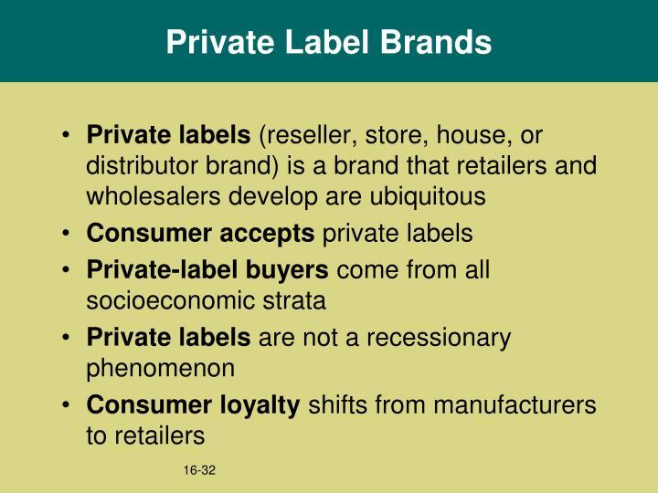 Private Label Brands
