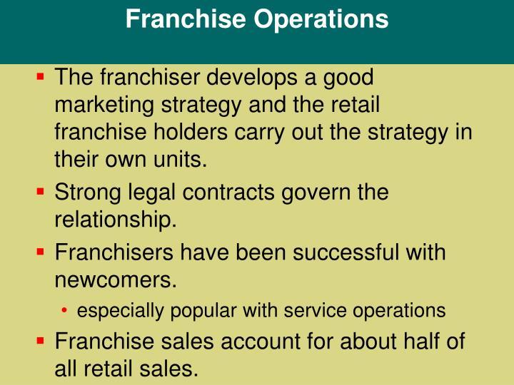Franchise Operations