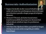 bureaucratic authoritarianism1