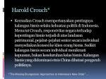 harold crouch1