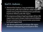 karl d jackson