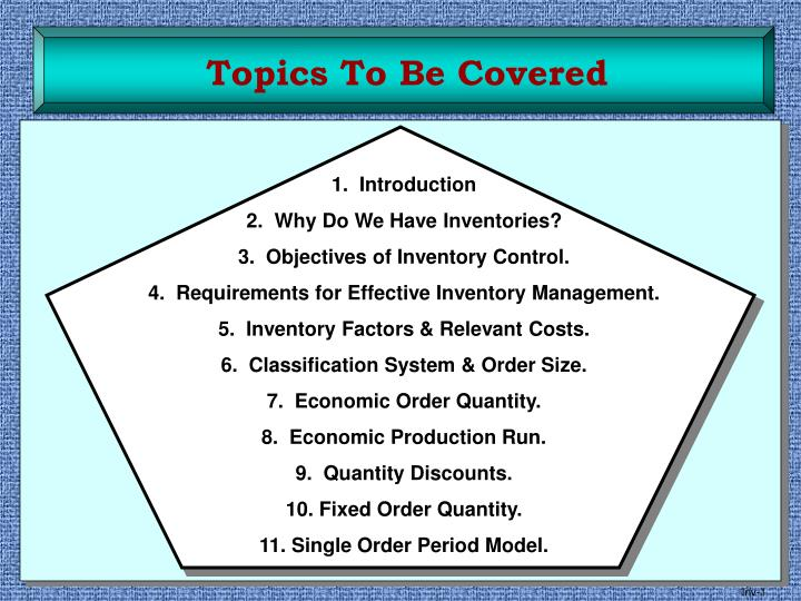 PPT - Topics To Be Covered PowerPoint Presentation - ID:6113662