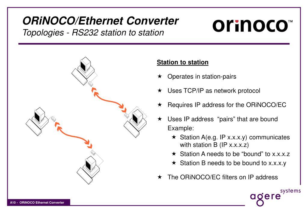 PPT - ORiNOCO Ethernet Converter PowerPoint Presentation